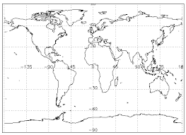 how to draw a map drawing map projections