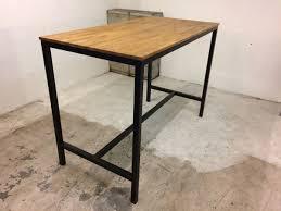 Table Repas Style Industriel by Home Loft Industeel