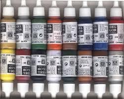 acrylic model paint amazon co uk