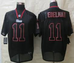 new england patriots lights nike new england patriots 11 julian edelman lights out black elite