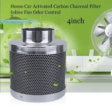 carbon filter fan combo 30 4inch home car activated carbon charcoal filter inline fan odor