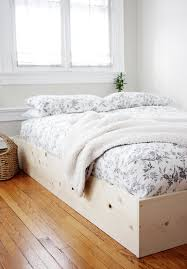 How To Make A Round Bed Mattress by 25 Easy Diy Bed Frame Projects To Upgrade Your Bedroom Simple