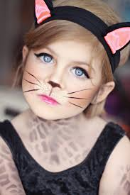 halloween costumes kitty cat leopard makeup cat makeup kid costume www sunkissedandmadeup com