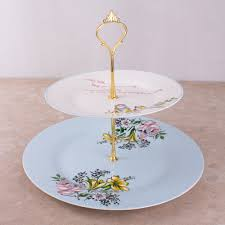 two tier cake stand bird song 2 tier cake stand