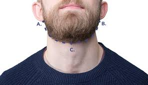 how to measure your beard length how to trim and fade your beard neckline