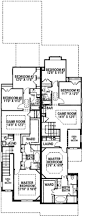 bungalow style house plan 3 beds 2 50 baths 4779 sq ft plan 141 310
