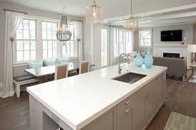 Benjamin Moore Gray Cabinets Benjamin Moore Wickham Gray For A Beach Style Kitchen With A Gray