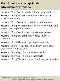 Sample Sql Dba Resume by Top 8 Sql Database Administrator Resume Samples
