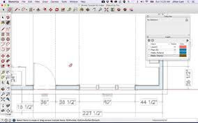 sketchup floor plan tutorial doors and windows sketchup tutorial 2d doors windows 09