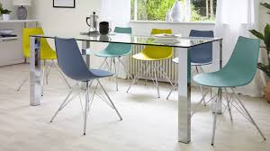 glass chrome dining table tiva glass and chrome dining table range youtube