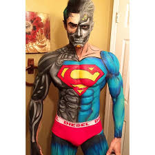 Comic Book Character Halloween Costumes Cosmetologist Transforms Amazing Comic Book