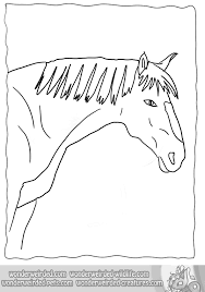 printable coloring pages horse show coloring