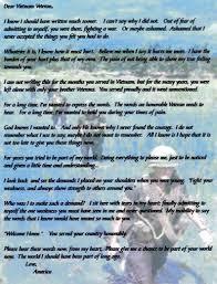 poem about thanksgiving to god dear vietnam veteran love america