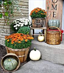 fall porch decorating ideas living country