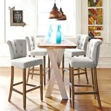 small high top table high top table with stools high top dining table and chairs in bar