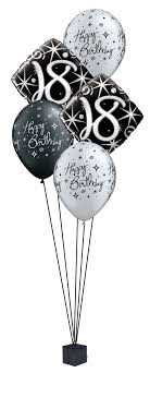balloons for 18th birthday 18th birthday balloon bouquet party fever