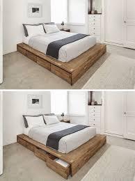 diy bed frame u2013 creative ideas for original bedroom furniture