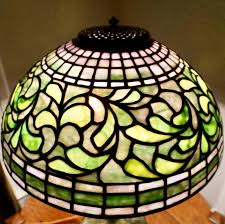 Tiffany Table Lamp Shades Tiffany Studios New York 1445 Swirling Leaf Table Lamp Shade