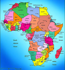 Labeled Map Of Africa by Africa Images Reverse Search