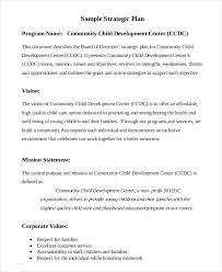 strategic plan template 10 free word pdf documents download