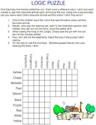 creative and curious kids logic puzzles summer smarties