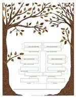 4 free family tree templates family tree