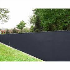 black fence privacy screen outdoor backyard fencing what is the