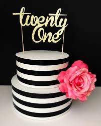 jeep cake topper gold twenty one cake topper centerpiece 21 cake topper