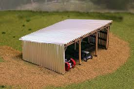 free download scale model scratch building metal shed miniatures