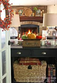 51 best for home fireplace images on pinterest fireplace ideas fall decor in family room with stone fireplace www goldenboysandme com