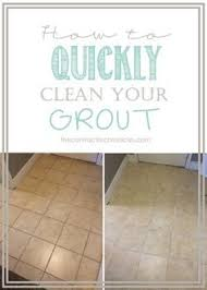 Cleaning Grout Lines Making Old Discolored Grout Look Like New Grout House And