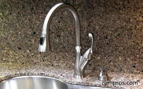 leland kitchen faucet kitchen faucet with soap dispenser pizzle me