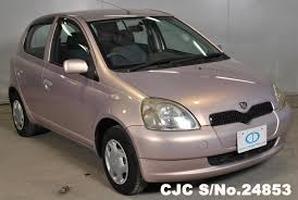 toyota yaris 2001 for sale 1999 toyota vitz yaris pink for sale stock no 24853