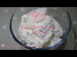 rosie u0027s basic buttercream recipe youtube food sweet