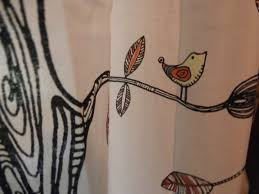 Leaf Curtains Ikea Eivor Curtains From Ikea I Colored In The Birds And The Leaves
