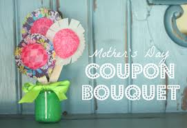 mother u0027s day coupon bouquet i can teach my child