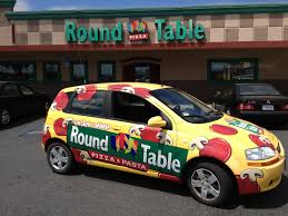does round table deliver round table pizza fleet delivery wrap scs wraps