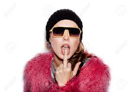 swag haircuts for girls fashion beauty swag girl wearing sunglasses pink fur coat black