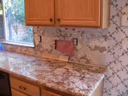Installing Tile Backsplash Kitchen Kitchen Backsplash Prepping For Tile And Selecting A Pattern