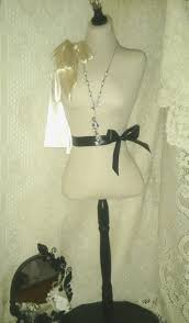 paris boutique dress form designs jewelry display 34 inches tall
