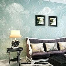 prefe print embossed non woven 3d home decor wallpaper for
