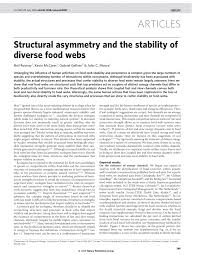 cuisine uilibr structural asymmetry and the stability of pdf available