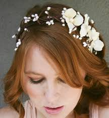 wedding headbands bridal headband floral and woods headbands for weddings