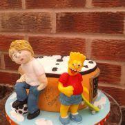 bart simpson 36 cakes cakesdecor