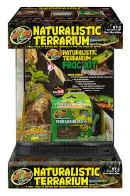 naturalistic terrarium frog kit zoo med laboratories inc