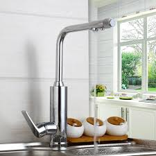 popular kitchen sinks taps buy cheap kitchen sinks taps lots from single lever kitchen faucet with mixer hot and cold water tap water purifier 360 degree swivel