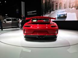 2017 nyias 2018 porsche 911 gt3 gets 500 hp autonation drive