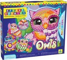 amazon com mosaics craft kits toys u0026 games