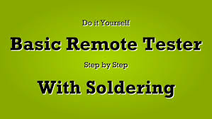basic remote tester science project hindi urdu youtube wiring