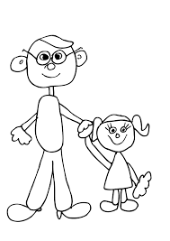 dad holding daughters hand clip art at clker com vector clip art
